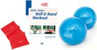 Sissel DVD Pilates Ball & Band Workout + Ball & Band