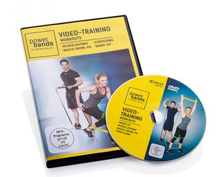 Video-Training Powerbands Workout DVD